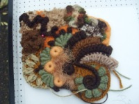 好复杂的精美钩针花片教程 - 钩针姐姐 - 钩花博客钩针图解crochet blog