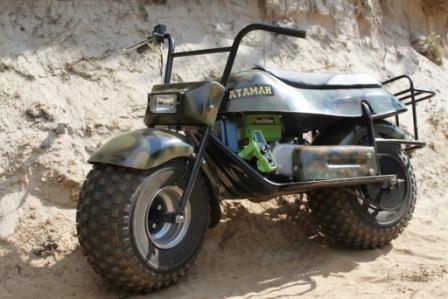 мотоцикл для леса и рыбалки