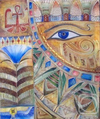 Добавлена на сайт 2010-01-21 23:37:45.  Стиль: Символизм.  Раздел: Текстиль.  Направление: Символическая композиция.