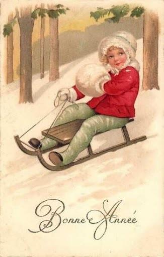 Прибалтийские новогодние открытки 29