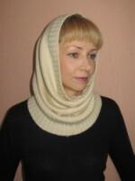 Вяжу шапку-трубу, вот что имею сейчас, схема вязания свитеров.
