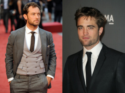 Robert Pattinson, Jude Law