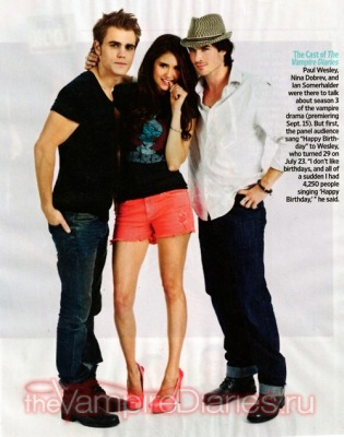 Скан из EW Magazine