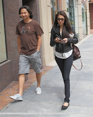 Walking in Beverly Hills with a friend [4 июня]