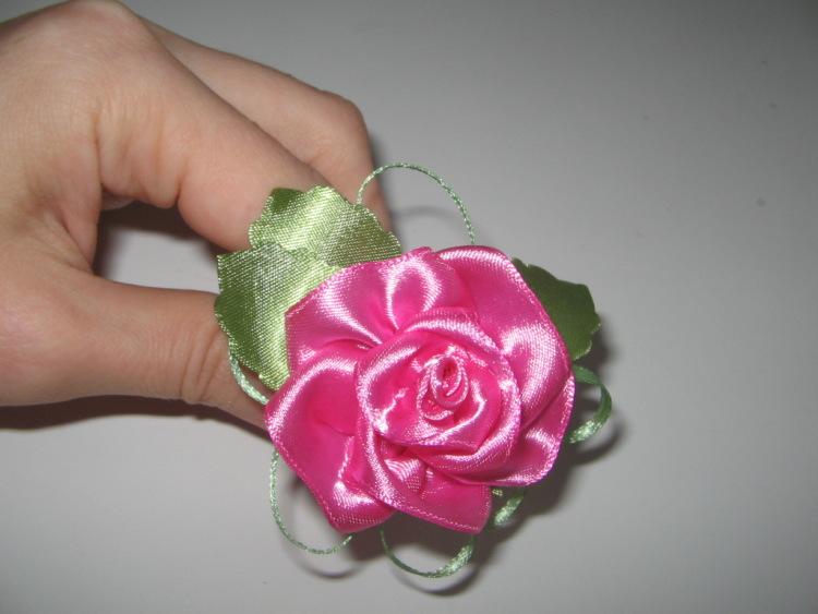 Gallery.ru / Фото #9 - Цветы и банты из лент 3 - savel-nata.