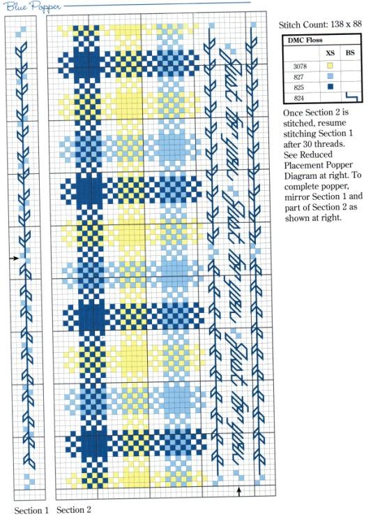 Батончики вышивка крестом 51