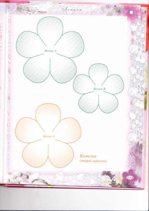 цветы из кожи выкройки - Сумки.