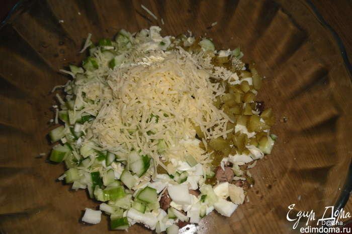 Пошаговые рецепты с из курицы салаты