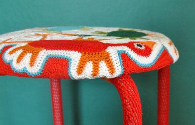 你家的桌椅也可这样包装---美丽椅子套 - 钩针姐姐 -  ---钩花博客钩针图解---