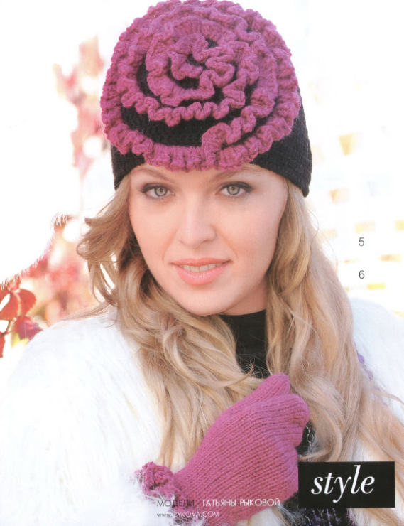 一组非常漂亮的帽子不看后悔呀! - 十一月雪 - November DIY