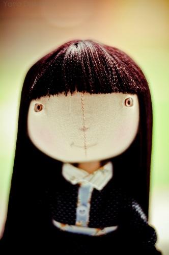 Рост: 30см.  Эта кукла сшита на основе выкройки тыквоголовки.
