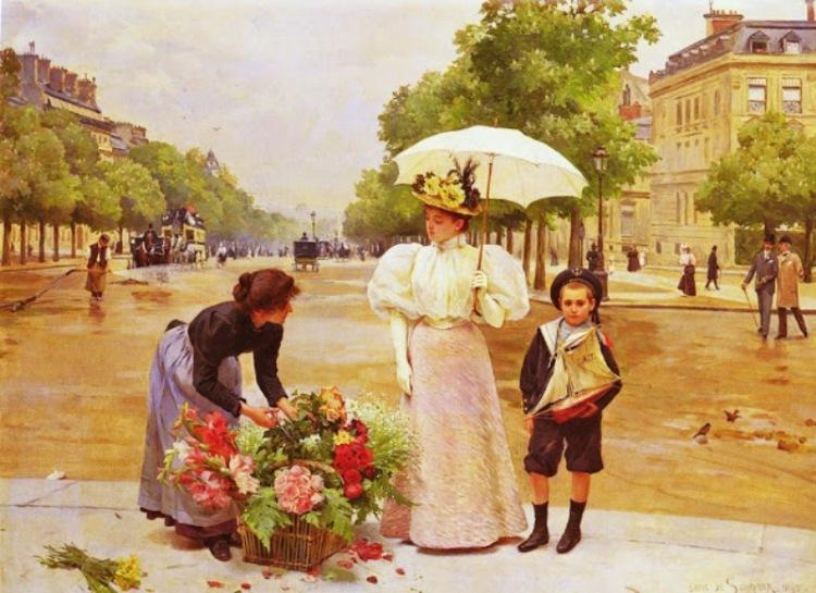 Игра парижские цветы