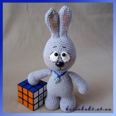 Мастер класс по вязанию крючком кролика