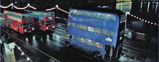 Knight Bus из Гарри Поттера - реинкарнация автобуса Regent/ Фото с сайта wikipedia.org.