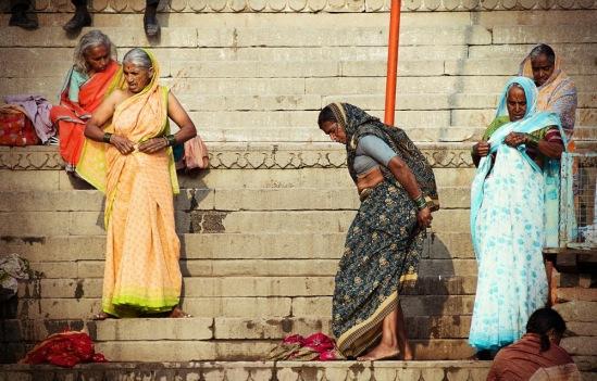Индусские женщины в Варанаси.