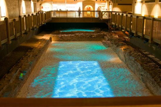 Римские бани, Каэрлеон
