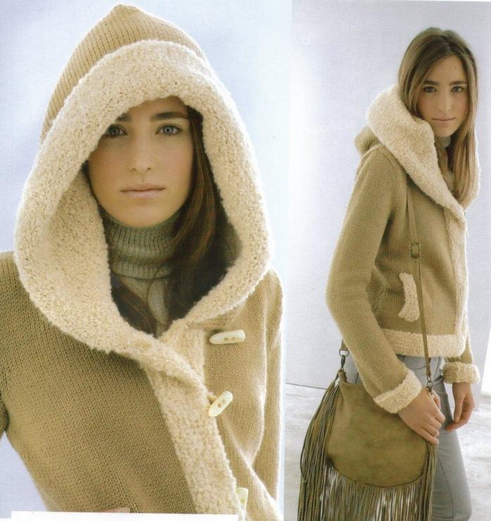Женская Вязаная Куртка Купить В
