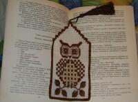 Как из бисера сделать закладку для книги