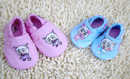 Выкройки шитой детской обуви - пинеток, ботинок, туфелек.  Май 10, 2012.