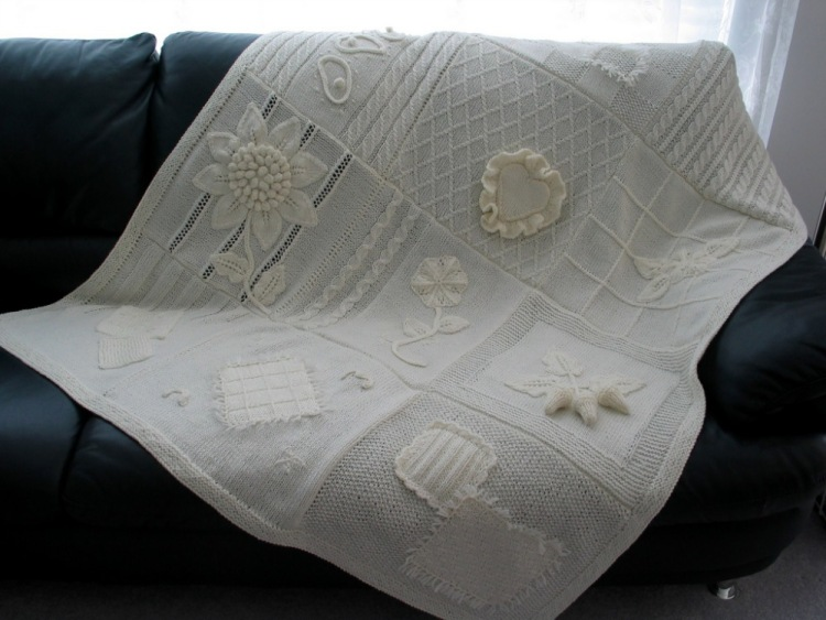 漂亮的针织毯 - maomao - 我随心动