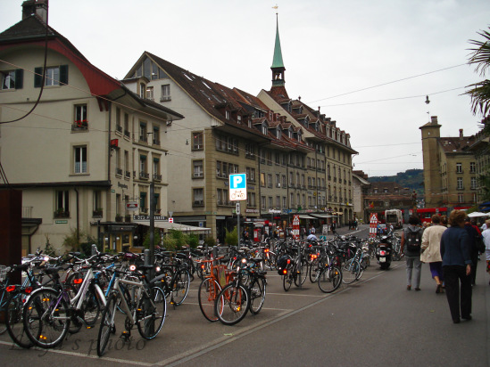 Памятник шуту Швейцария