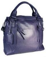 Женская сумка Eleganzza фиолетового цвета, выполненная из натуральной...