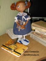 шьем текстильную интерерную куклу - Выкройки одежды для детей и взрослых.