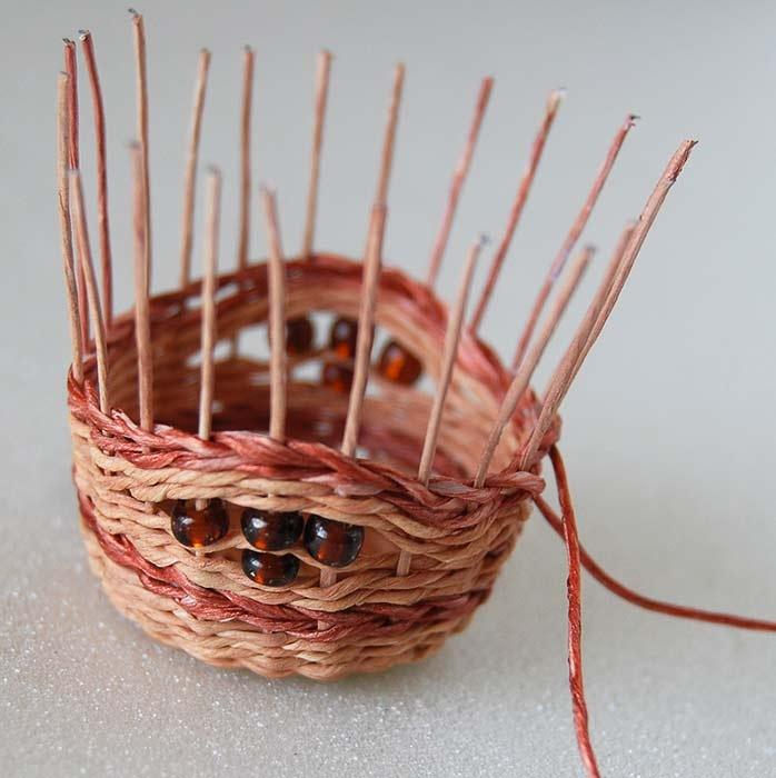 Как сделать плетёную корзину своими руками 98