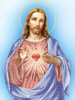 """Купить  """"Святейшее сердце Христово """" от Ангелика - от Ангелика."""