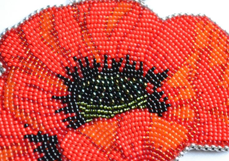 Вышивка бисером схемы по кругу 10