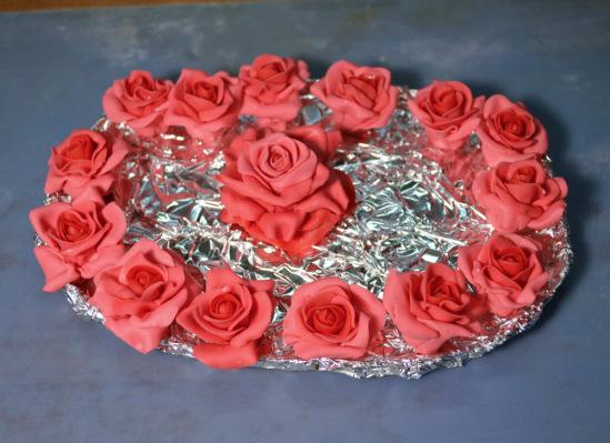 Кухня: Розы для торта. Опыт номер раз!