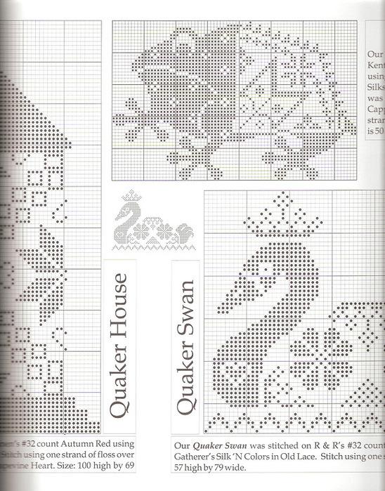 Часть 21 - Схемы для вышивки