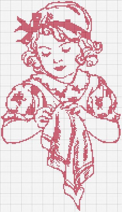 Схемы вышивки 2 цвета 64