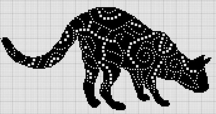 Размещено с помощью приложения. звёздный кот (монохромная вышивка крестом, схема).  Я - фотограф.  Прочитать целикомВ.
