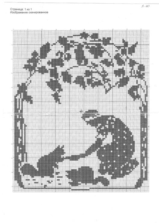 Вышивка схема фемида 51