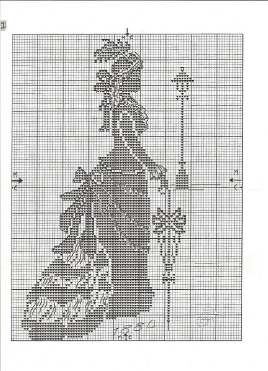черно белые вышивки крестом схемы кошек
