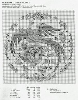 Меланж схема для вышивки 25