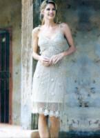 Описание: крючком.  - Схемы вязания платья - Схемы.
