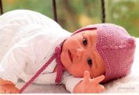 вязание спицами для детей шапочки с ушками - Выкройки одежды для детей и...