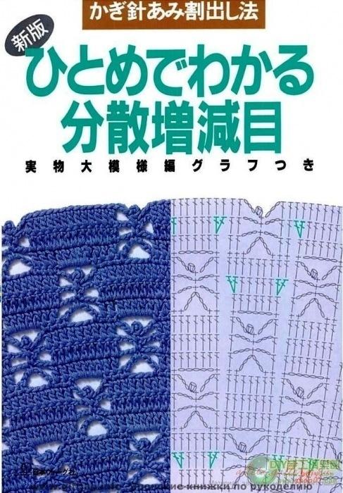 Японский журнал схем узоров