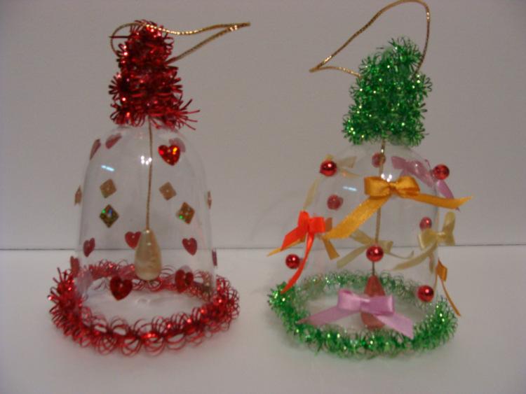 Новогодние елочные игрушки и поделки