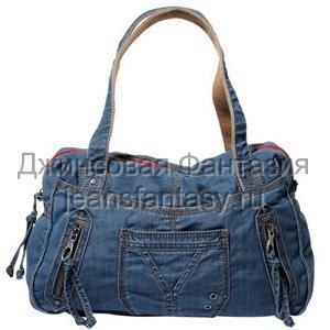 Джинсовые сумки красивые