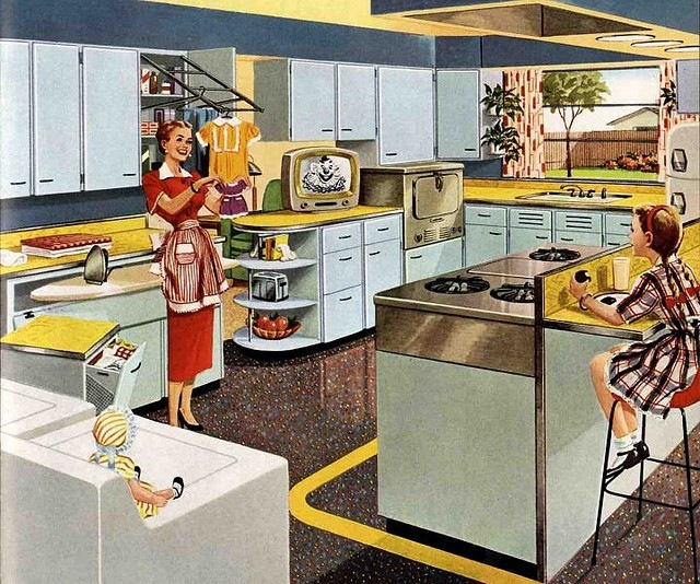 Кухня 50-ых