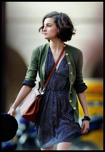 Парижанка и ее стиль.