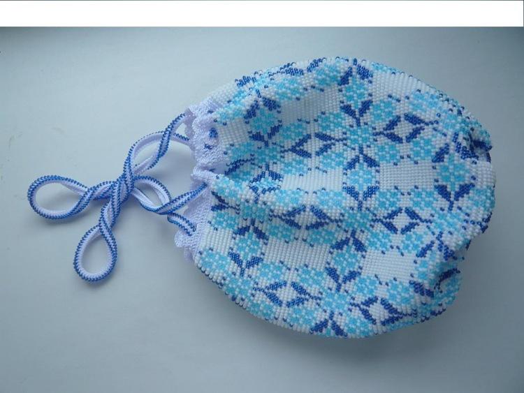 вязание бисером сумки - Сумки.