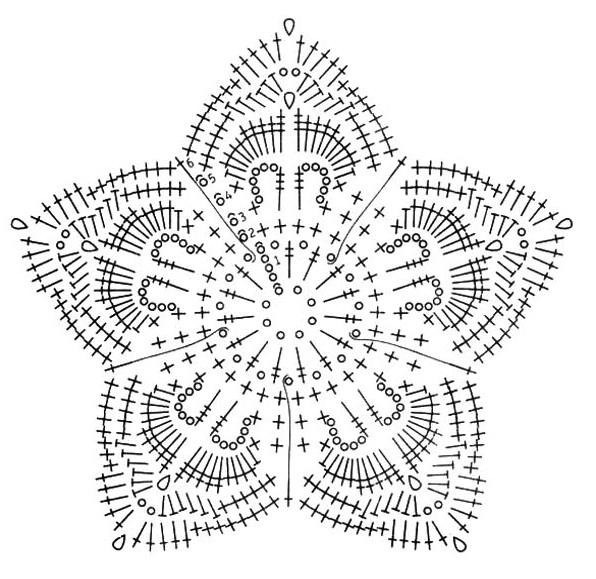 свой цитатник или сообщество!  Вязаные цветы со схемами.  Прочитать целикомВ.