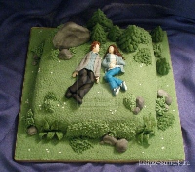 Фото сумеречный торт